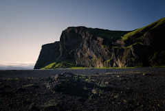 Iceland-Cliff