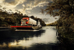 Scania Barge 074