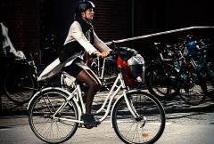 White-bike
